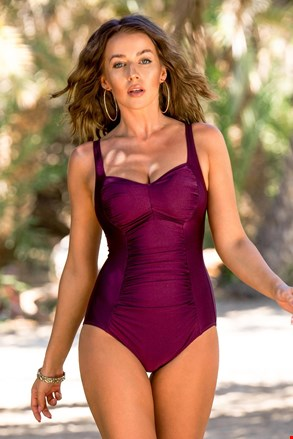 Jednoczęściowy kostium kąpielowy Chloe Grape