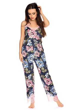Дамска сатенена пижама Elen
