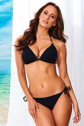 Ženski dvodijelni kupaći kostim Alma Black bez žica