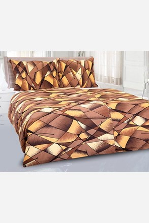 Pblo krepp ágyneműhuzat, barna