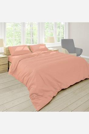 Pastel ágyneműhuzat, barack színű