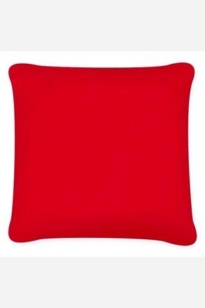 Obliečka na vankúšik Uni červená