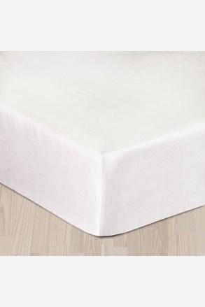 Sima pamut szatén lepedő fehér