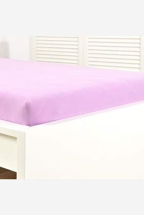 Jersey gumis lepedő világos lila