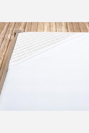 Biele bavlnené prestieradlo
