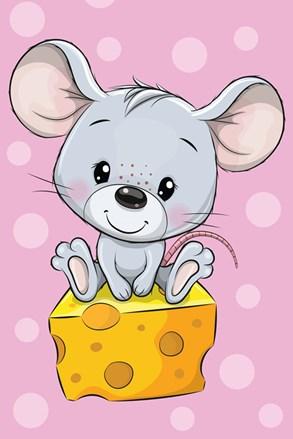 Detský uterák Myška