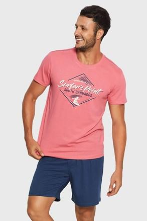 Raise férfi pizsama kék-rózsaszín