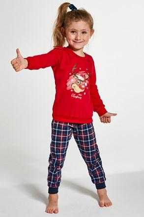 Dziewczęca piżama Renifer