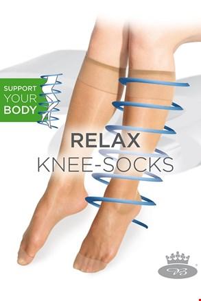 Силонови медицински три четвърти чорапи Relax