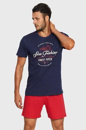 Niebiesko-czerwona piżama Rob