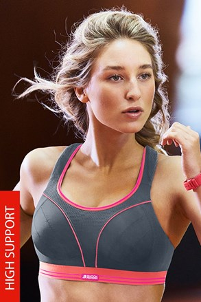 Спортен сутиенShock Absorber Ultimate Run S5044 Grey без банели