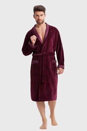 Чоловічий халат Marcello bordo