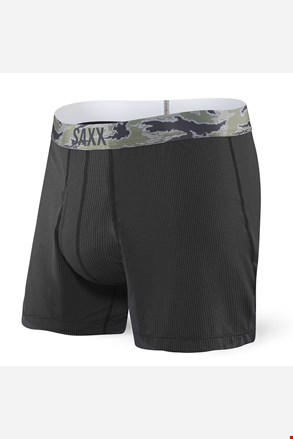 Muške kratke hlače SAXX Quest 2.0 Loose Black
