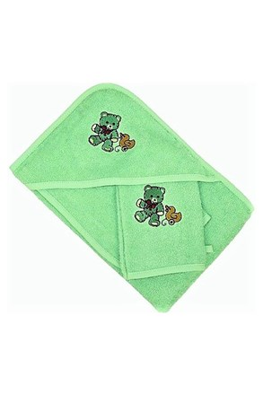 Set pentru bebelusi, verde