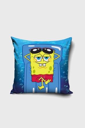 Fata de perna Spongebob pe sezlong