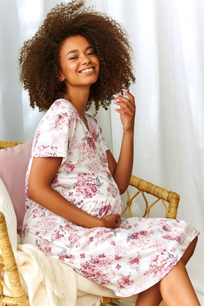 Materská dojčiaca košieľka Rosemary I