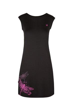 Dámske čierne športové šaty LOAP Minon