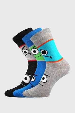 Tlamík fiú zokni, 3 pár 1 csomagban