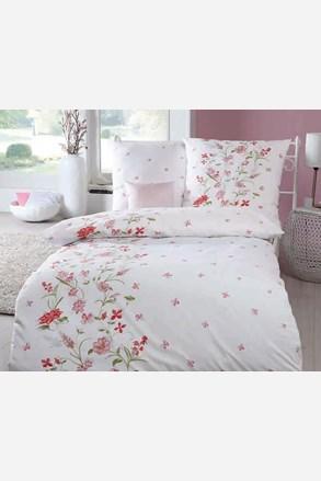 Viola krepp ágyneműhuzat, rózsaszín