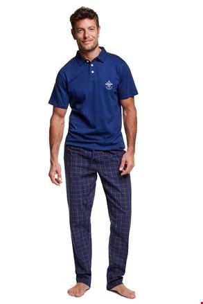 Męska piżama z kołnierzykiem Vote