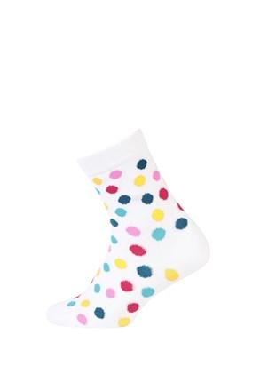 Παιδικές κάλτσες πολύχρωμο πουά
