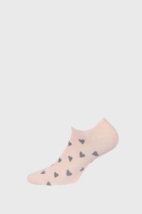 Къси чорапи за момичета Hearts