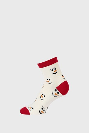 Детски коледни чорапки Снежен човек