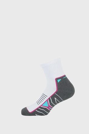 Сиво-бели спортни чорапи за момичета Active