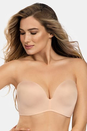 Podprsenka Wonderbra Ultimate Strapless bardot Double Push-Up bez kostíc