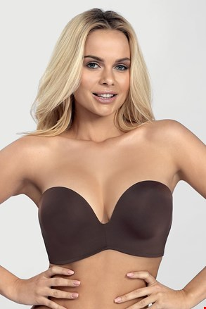 Σουτιέν Wonderbra Ultimate Strapless bardot Double Push-Up χωρίς μπανέλες