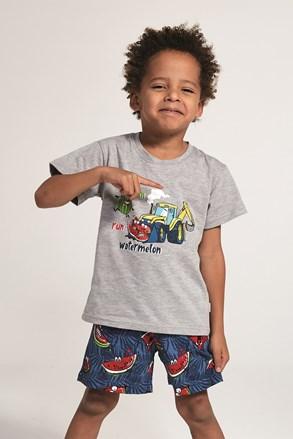 Pijama baieti Watermelone