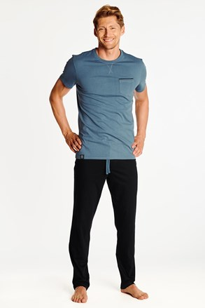 Синьо-чорна піжама Zing