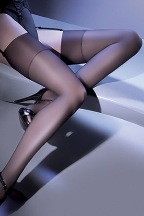 Čarape za pojas za podvezice Cher 15 DEN