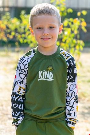 Chłopięca cienka bluza Skate