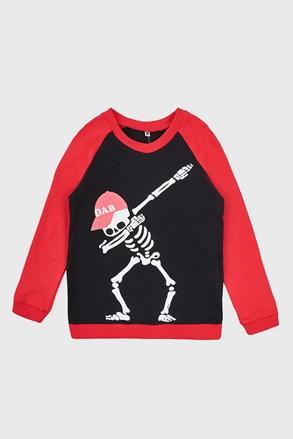 Cienka chłopięca bluza Zombie
