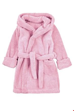 Lányka fürdőköpeny, rózsaszín