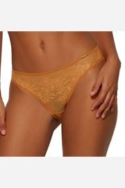 Σλιπ Gossard Glossies Lace κίτρινο