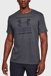 Szary T-shirt Under Armour Foundation