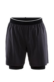 CRAFT Charge 2 v 1 férfi short nadrág