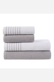Súprava uterákov a osušiek Eleganza sivá