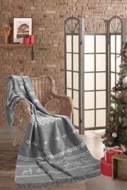 Bożonarodzeniowy koc Renifer