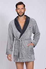 Сив халат Professor BJ