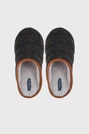 Domáce tmavosivé papuče