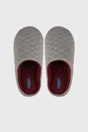 Sivé domáce papuče
