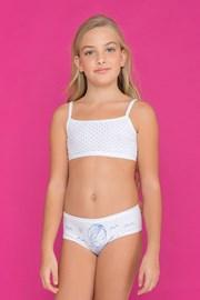 Σύνολο μπουστάκι με σλιπ για κορίτσια Fairy Blue