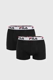 FILA v.I férfi boxeralsó fekete, 2 db-os csomagolás