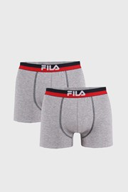 FILA v.III férfi boxeralsó szürke, 2 db-os csomagolás