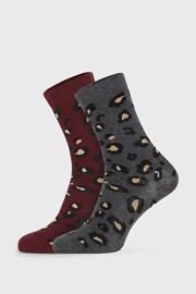 2 PACK дамски чорапи Cheetah