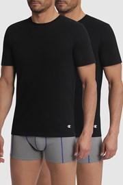 2 pack pánskych čiernych tričiek Champion
