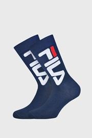 FILA magasabb zokni, sötétkék, 2 pár 1 csomagban